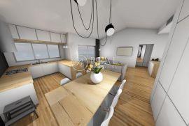 Hosti, dvoetažni stan od 125 m2, 3S+DB sa dva balkona i terasom, Rijeka, Apartamento