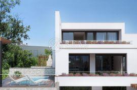 Crikvenica, dvoetažni stan u modernoj urbanoj vili od 170 m2 sa pripadcima, Crikvenica, Appartement