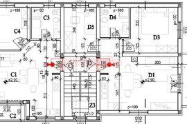 Stan u Puli , novi stan 55  m2 , 1 kat, Pula, Kвартира
