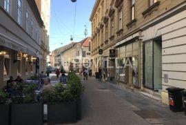 Strogi centar, Gajeva ulica, ulični poslovni prostor NKP 39,67 m2, TOP lokacija, Zagreb, Propriété commerciale