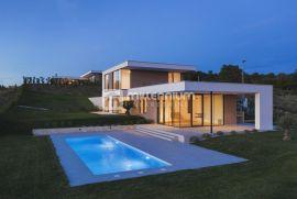 Istra, Brtonigla, luksuzna moderna vila s panoramskim pogledom, Brtonigla, Famiglia