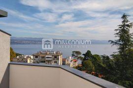 Lovran, novogradnja, 2-sobni stan s db, dvije terase, Lovran, Appartamento