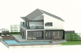 Krasica, započeta gradnja kuće s bazenom, Bakar, Maison