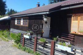 Drvena kućica 108 m2,S+P,okućnica 500 m2, Delnice, بيت