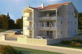Okolica mjesta Dobrinj, stan u urbanoj vili od 51,25 m2, 2S+DB, Dobrinj, Daire