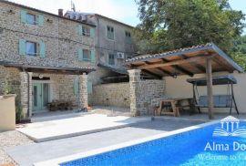 Kuća Motovun, kamena sa bazenom za odmor., Motovun, Σπίτι