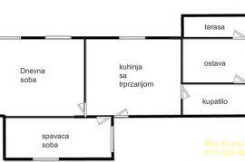 Palilula, Karaburma - Mirijevski bulevar, 64m2, Palilula, Kвартира