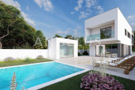 Zaton - kuća sa bazenom, novogradnja, 186 m2, Nin, Дом