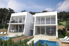 Murter - apartman u vili sa privatnim bazenom i pogledom na more, Murter, Kвартира