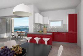 Murter - stan u vili sa privatnim bazenom i pogledom na more, Murter, شقة