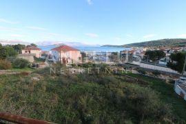 Čiovo, Slatine-kuća sa projektom, otvoreni pogled, prvi red do mora, Trogir, Kuća