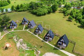 Planinska kućica/Bungalov Sportsko-rekreativni centar Ajdinovići, jedino turističko naselje sa 4*, Olovo, Дом