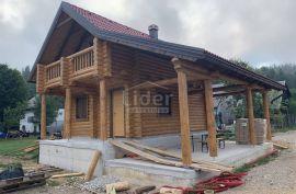 Fužine, drvena kuća sa okućnicom, Fužine, Дом