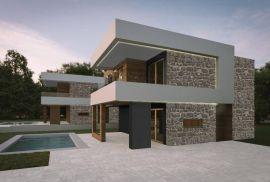 Krk, Linardići - prekrasna moderna vila s bazenom, Krk, Kuća