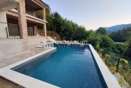 Veprinac, novogradnja, kvalitetna kuća s bazenom, Opatija - Okolica, Maison