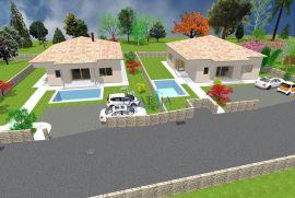 Krk, Bajčići, novogradnja, kuća s bazenom, 126 m2, Krk, Ev