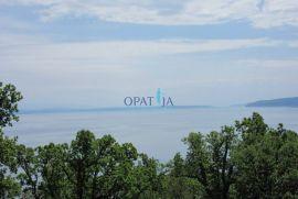 Opatija-Ičići građevinsko zemljište 883 m2 sa lijepim pogledom, Opatija - Okolica, Zemljište