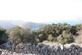 Ustrine, Otok Cres - Građevinsko, 740 m2, Mali Lošinj, Terrain