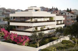 Čiovo, Novogradnja ,Stan 113,11 m2 sa velikom terasom,udaljenost od mora 70 metara., Trogir, Stan