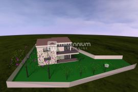 Marinići, građevinsko zemljište od 816m2 za obiteljsku kuću, Viškovo, Zemljište