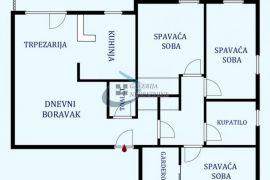 Vračar, Južni bulevar - Braće Radovanović 74m2, Vračar, Appartamento