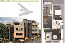 Petrova LUKSUZNA NOVOGRADNJA, trosoban stan 65,46 m2, Zagreb, Appartement