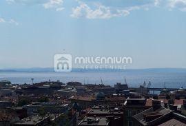 Rijeka, Belveder, 56.99m2, 2-sobni stan, balkon, pogled, Rijeka, Stan