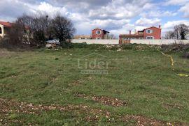 Vodnjan građevinsko zemljište 1186 m2 sa dozvolom i projektom, Vodnjan, Zemljište