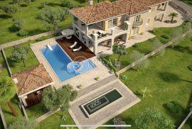 Čižići, zemljište od 1000 m2 za raskošnu vilu sa bazenom, Dobrinj, Zemljište