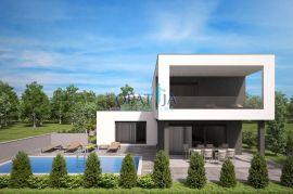 Otok Krk, Malinska, okolica, nova moderna vila sa bazenom, Malinska-Dubašnica, Casa