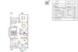 Apartman, Njivice otok Krk, 88 m2, Omišalj, Stan