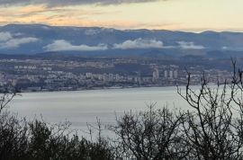 Građevinsko zemljište u Lovranu(Liganj)sa prekrasnim pogledom na more!, Lovran, Γη