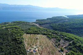 Poljoprivredno zemljište u Supetru na otoku Braču, 700 metara od mora!, Supetar, Terra