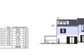 Apartmani u Cresu, od 69m2 do 144 m2 novogradnja, kvalitetno!!!, Cres, Daire