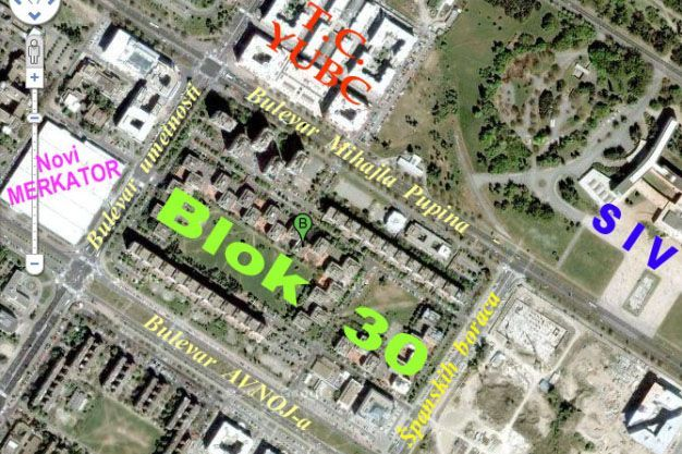 blok 30 novi beograd mapa Blok 30, 3.5 soban STAN, 85 m2 blok 30 novi beograd mapa