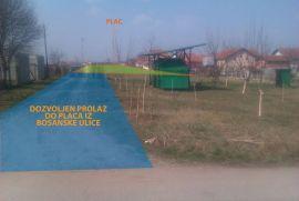 Parcela pored auto-puta kod Novih Banovaca na prodaju, Stara Pazova, Terreno