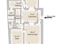 Stan u centru Beograda, 150 m2, 250000€, Beograd, Stan