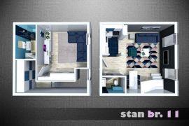 Stan: Beograd,Batajnica,55 m2, 46469 EUR, Beograd, Wohnung