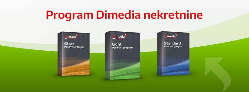 Dimedia Nekretnine Program za agencije za nekretnine